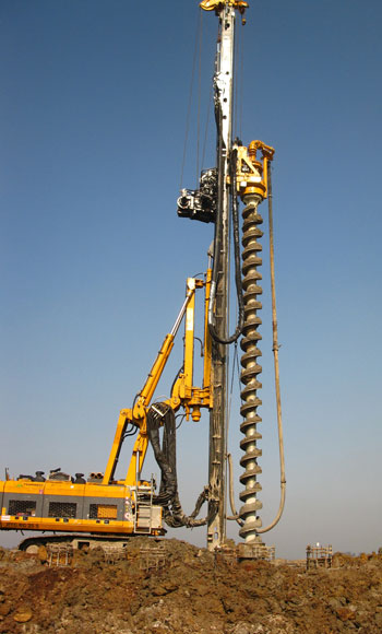 borehole driller